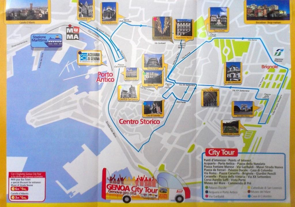 小观光 bus 的路线 (点图可以放大)