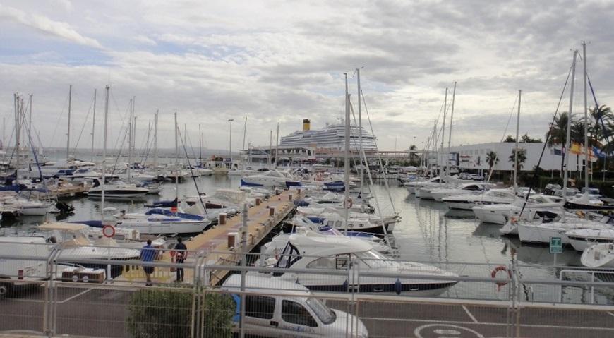 Palma 港是歐洲很美的港口