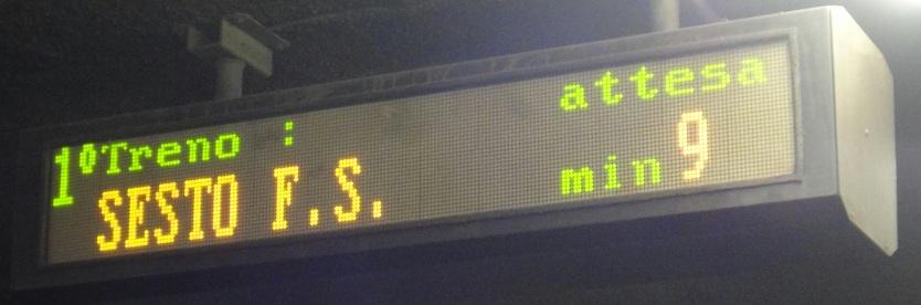 米蘭地鐵的間距有時候ˋ很長