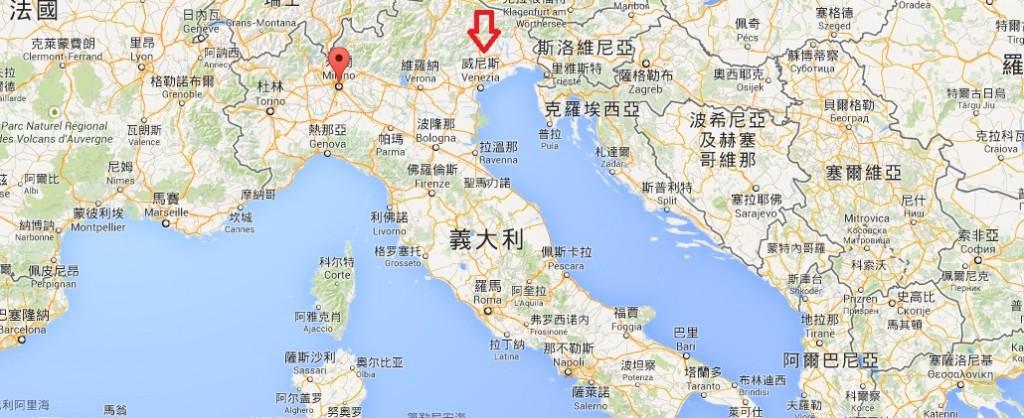 到威尼斯的話,可以考慮把米蘭也加入行程吧