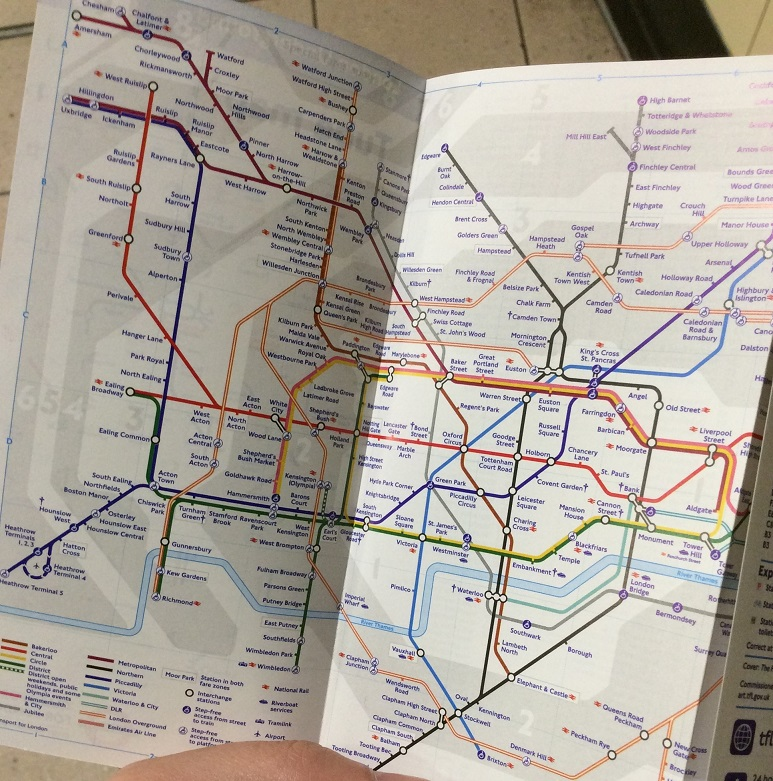 對於短期旅遊的人來說,用這個小圖查地鐵很方便