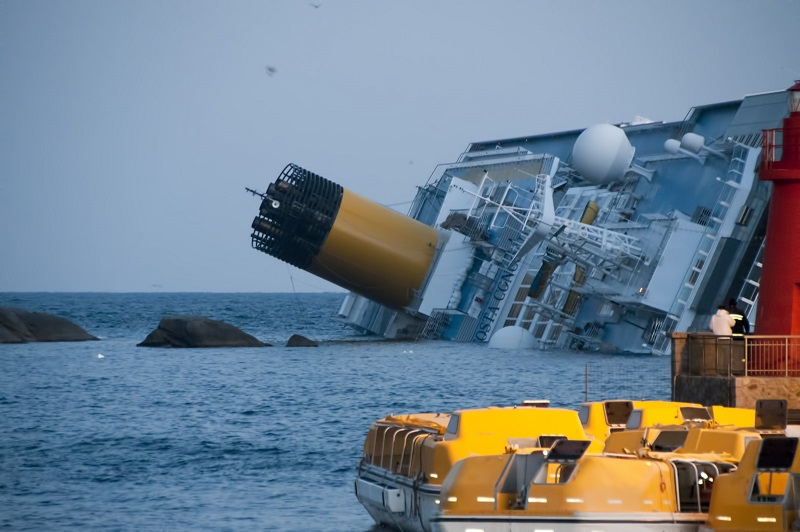 Costa Concordia 協和號的觸礁事件,是郵輪界以及很多人心中的痛