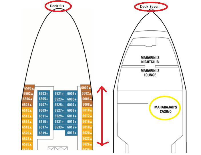 船艙上方有公共設施