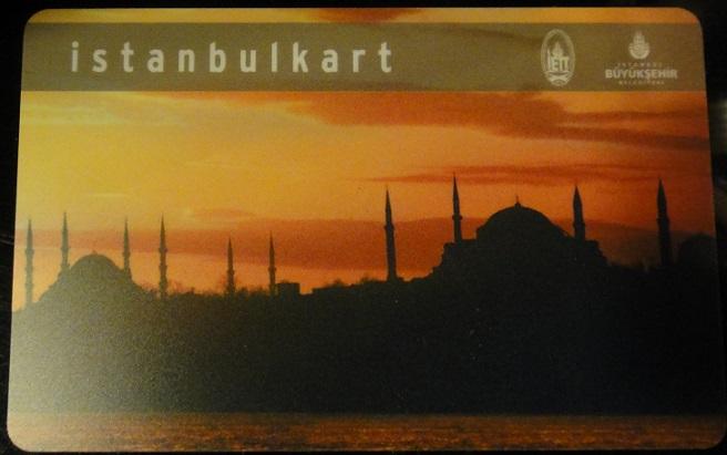 伊斯坦堡儲值卡