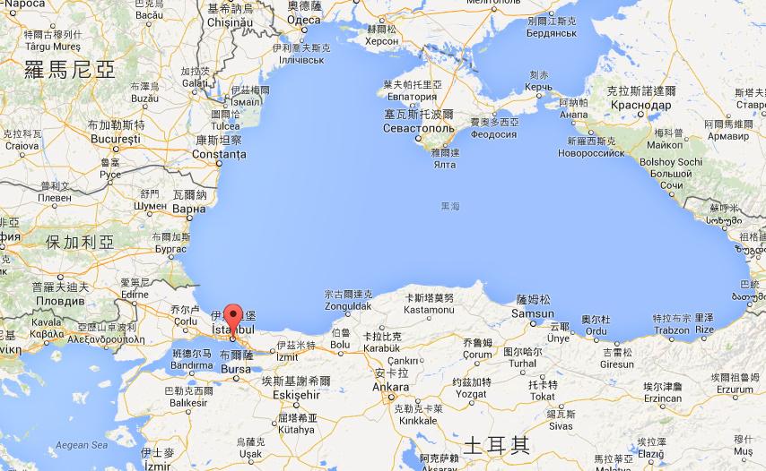 伊斯坦堡位於地中海進入黑海的出入口