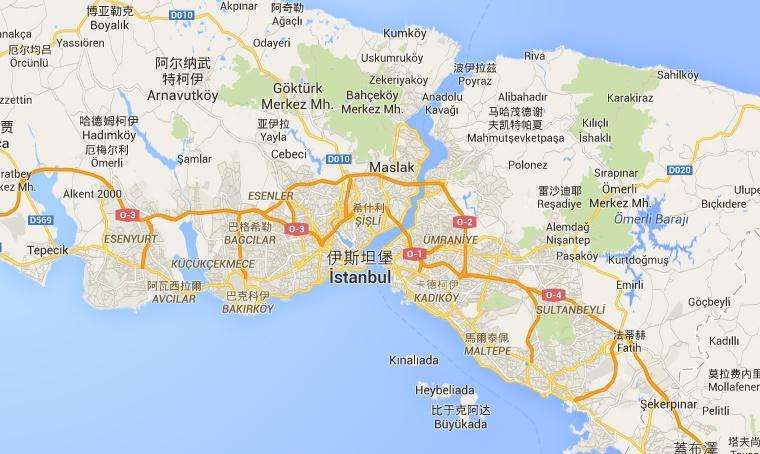 伊斯坦堡是唯一橫跨歐亞兩個板塊的城市