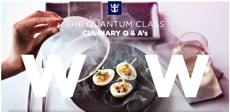 皇家加勒比海公司也推出 dynamic dinning 自由用餐方式