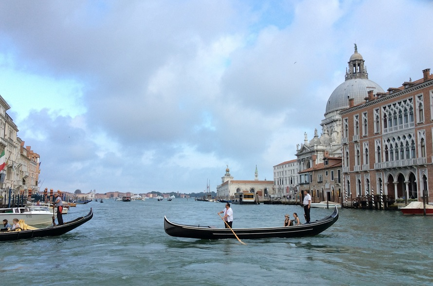 威尼斯的 grand canal 風光