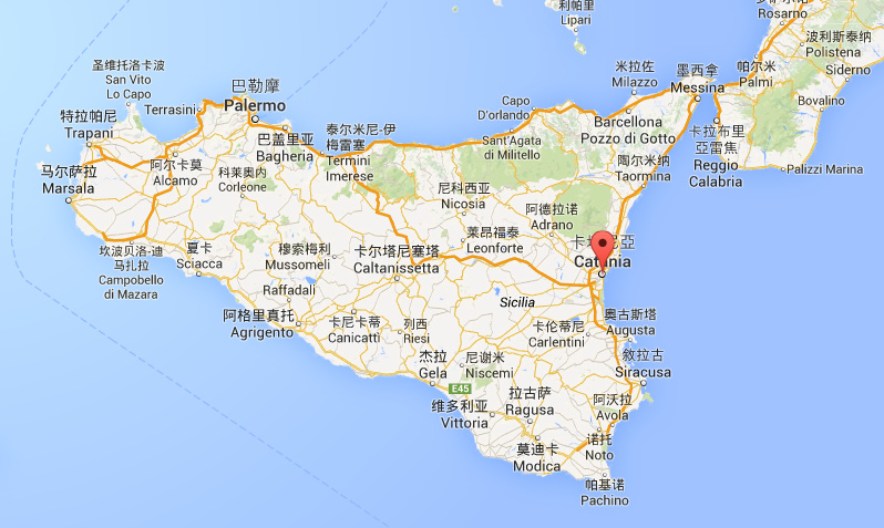 Catania 卡塔尼亞是西西里島的第二大城