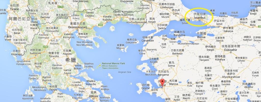Izmir 距離伊斯坦堡很近,因此常常被規劃為遊輪的前一個停靠站