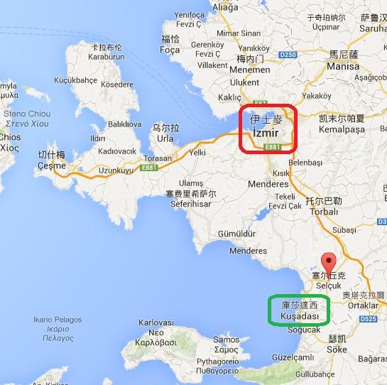 Izmir 和距離不遠的 Kusadasi 主要觀光點都是到 Ephesus (Selcuk)