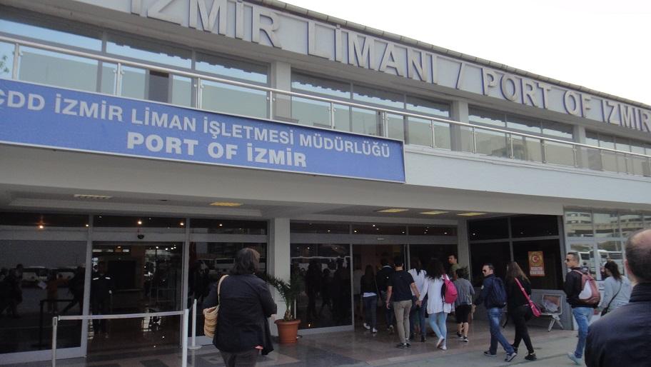 Izmir 港口航廈 terminal