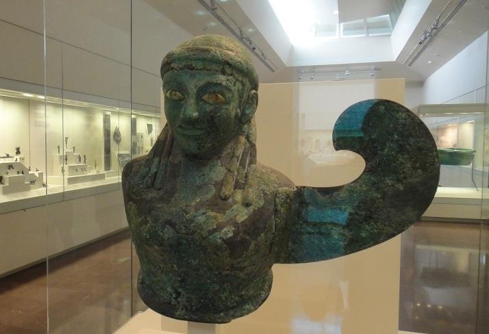 Olympia 的遺跡很多都搬到考古博物館展覽了