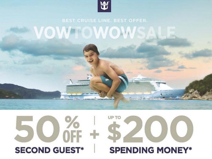 第二人半價,視艙等還有送 onboard credit