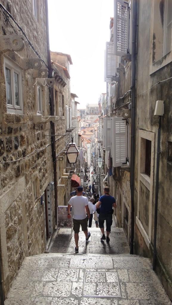 漫步在 Dubrovnik 城裡,是最愜意的~