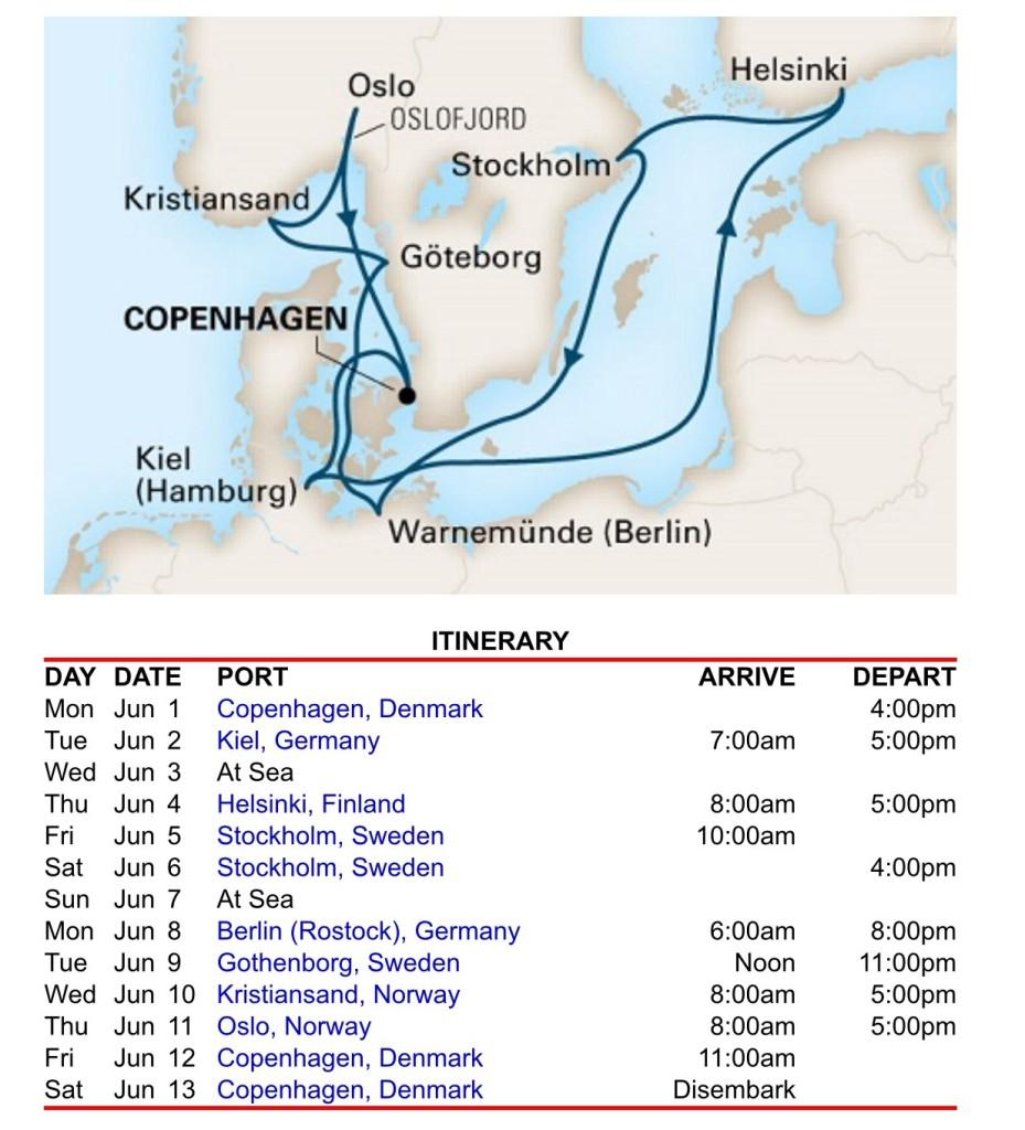 從亞洲飛到哥本哈根出發的北歐行程其實搭飛機算蠻方便的