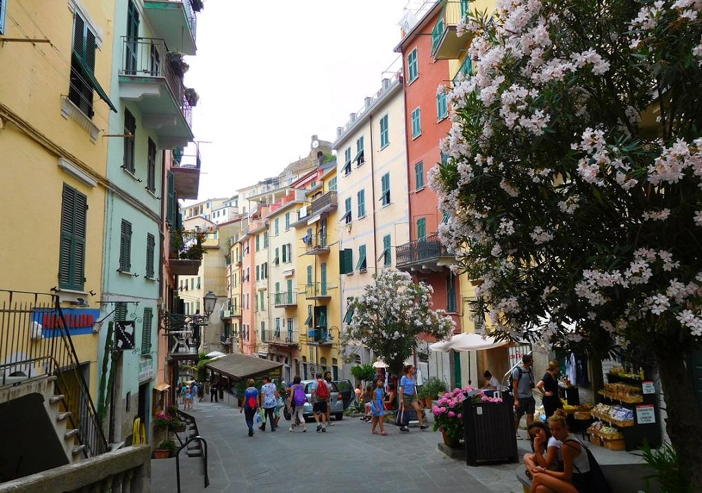 不管是哪一個村,這些美麗的街道總讓人流連忘返