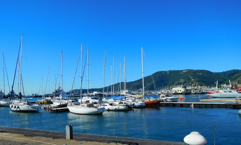 La Spezia 港口一景