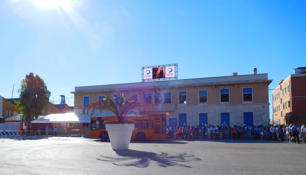 La Spezia 碼頭的航廈 (cruise terminal)