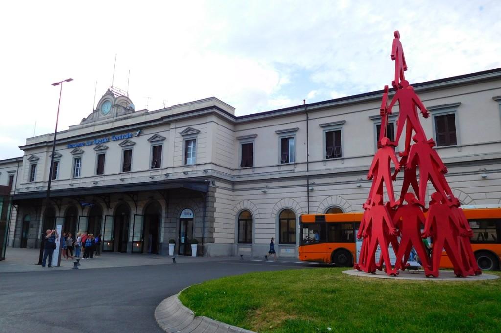 La Spezia Central 火車站到了~