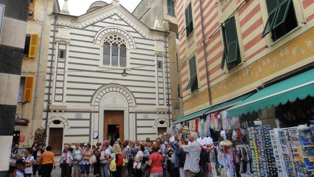 Monterosso 的教堂