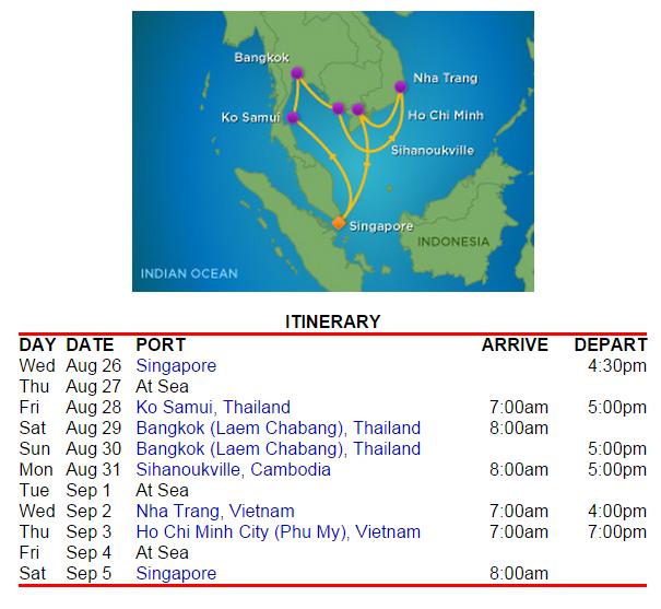 10 天走訪泰國、柬埔寨、越南