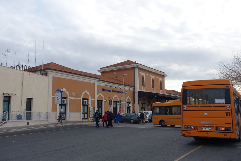 Civitavecchia 火車站 (感謝Cindy Chow提供照片)