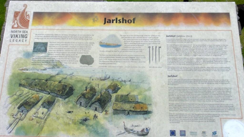 這裡是約 4000年前,維京人生活的遺跡