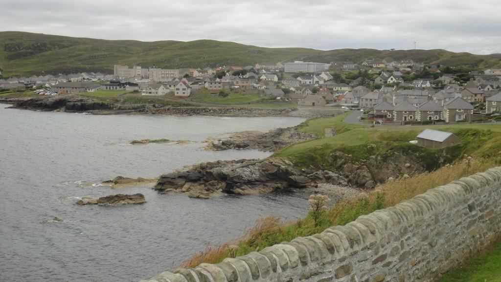 沿步道可以欣賞海岸和城鎮風光,聽說有時候還有海豹會來曬太陽
