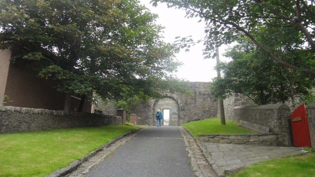 最後再把小鎮的 400年歷史 Charlotte 碉堡逛一逛