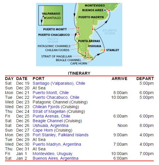 由智利進、阿根廷出,超級充實的14天南美行程
