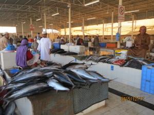 1085馬斯喀特Matrah漁市場