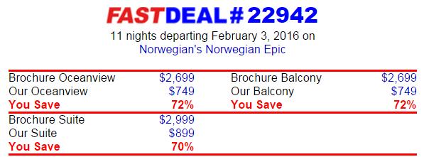 11天 Norwegian Epic 西地中海行程只要台幣兩萬五
