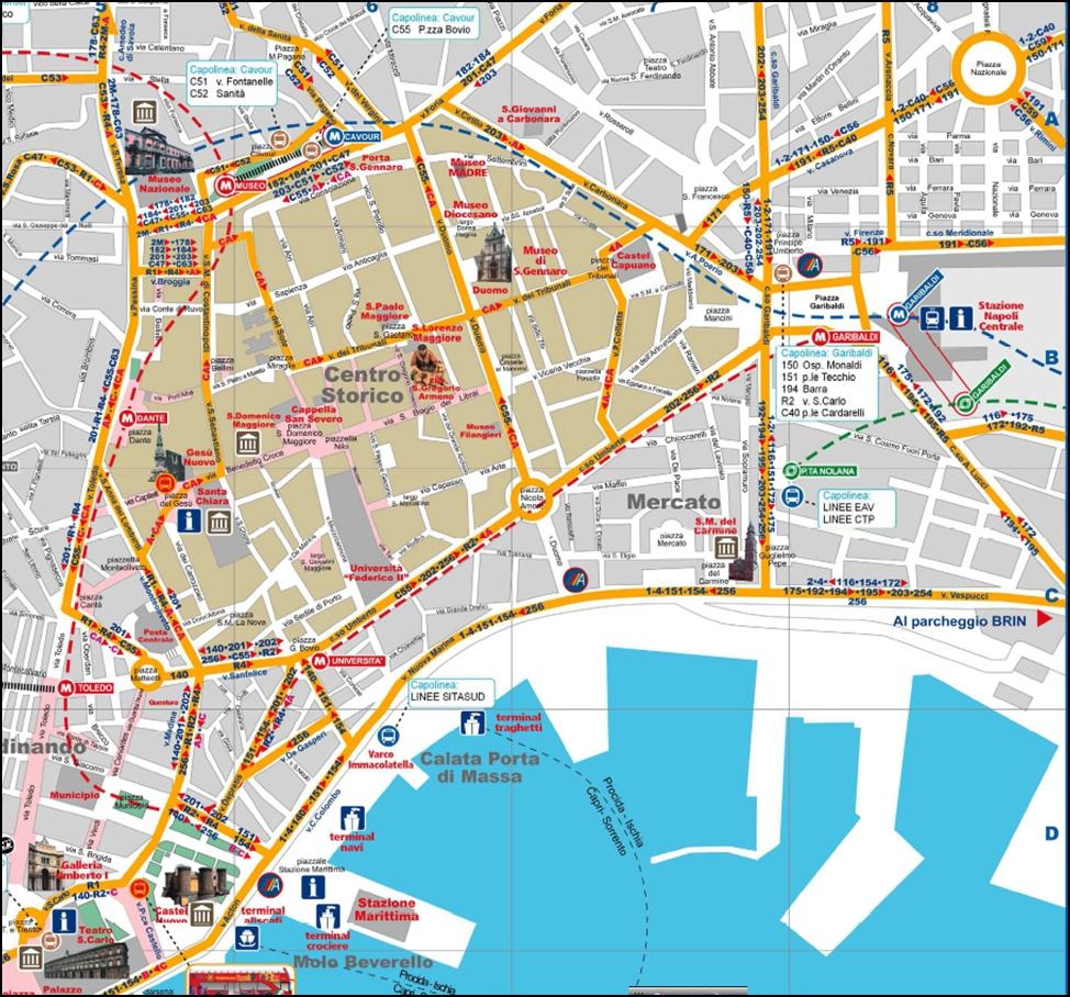 Naples市區圖