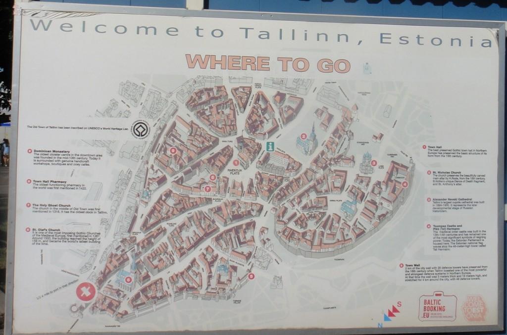 Tallin 舊城