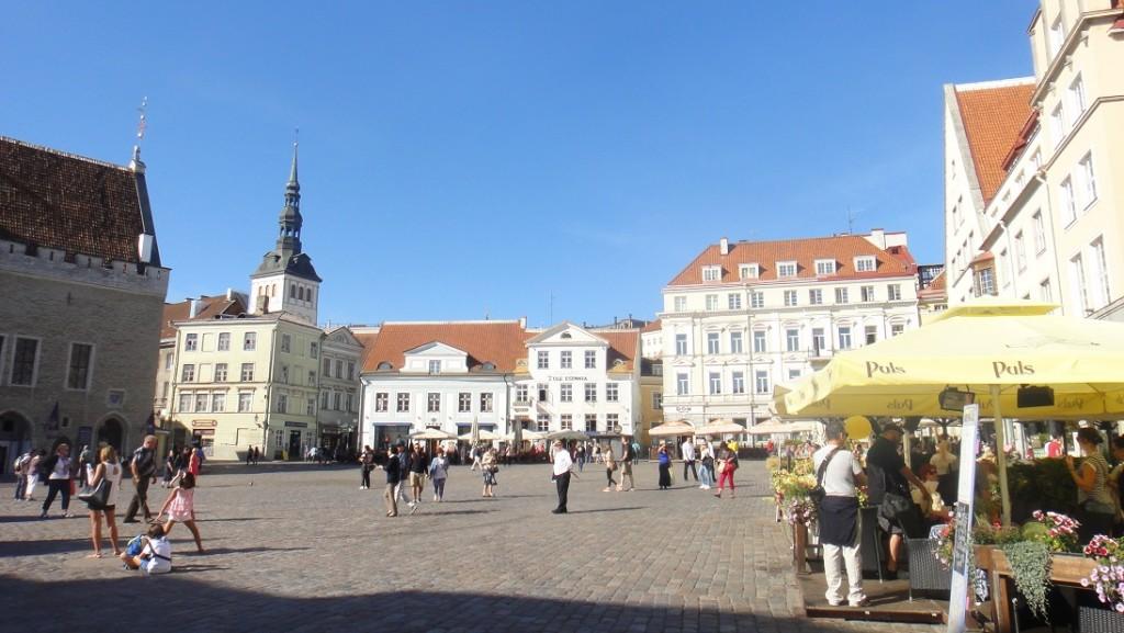 市政廣場 (Town Hall Square) 一隅