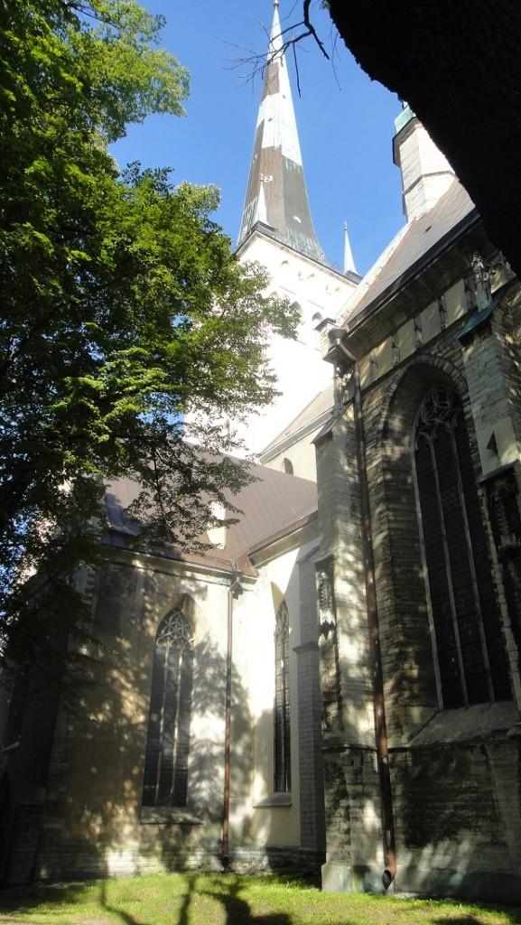 St. Olaf's Church 教堂是1549-1625年間全世界最高的建築