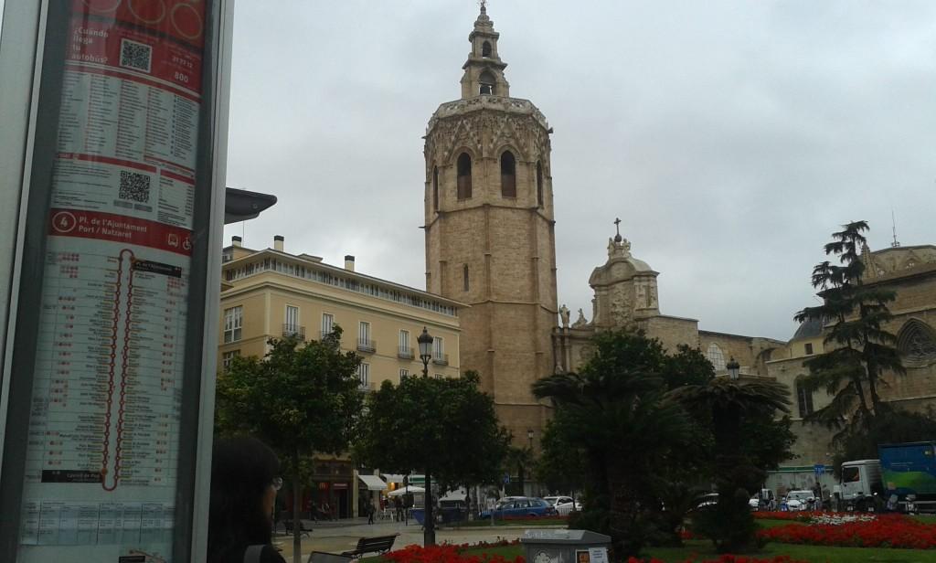 141127瓦倫西亞4號公車主教堂站