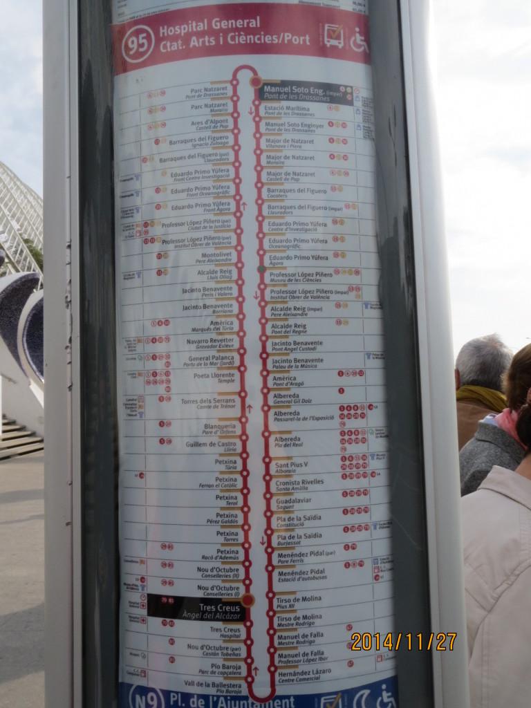 141127科學藝術城95號公車