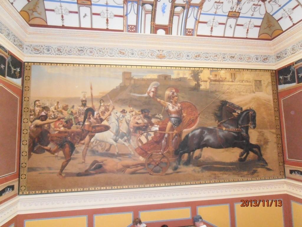 阿基里斯打敗赫克托王子畫作