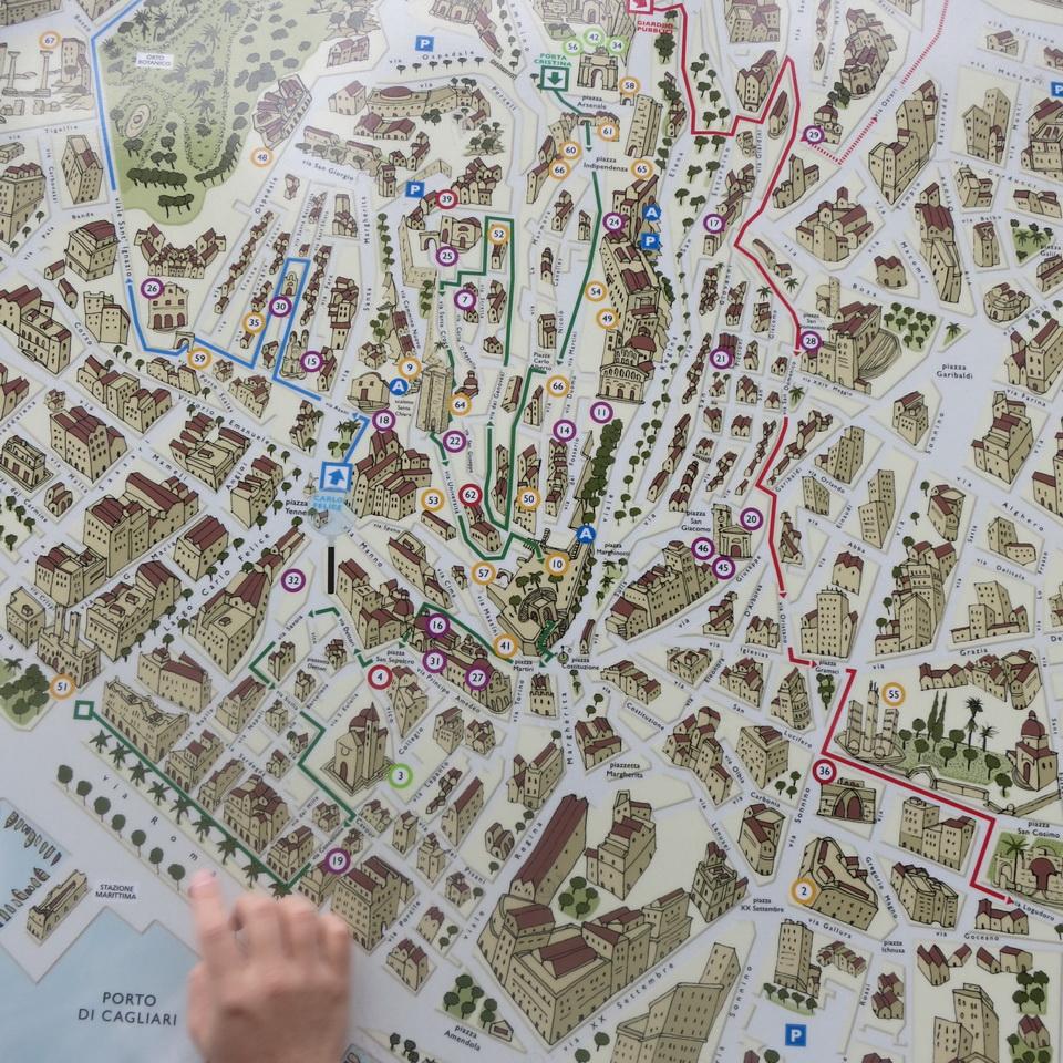 1129卡利亞里地圖1