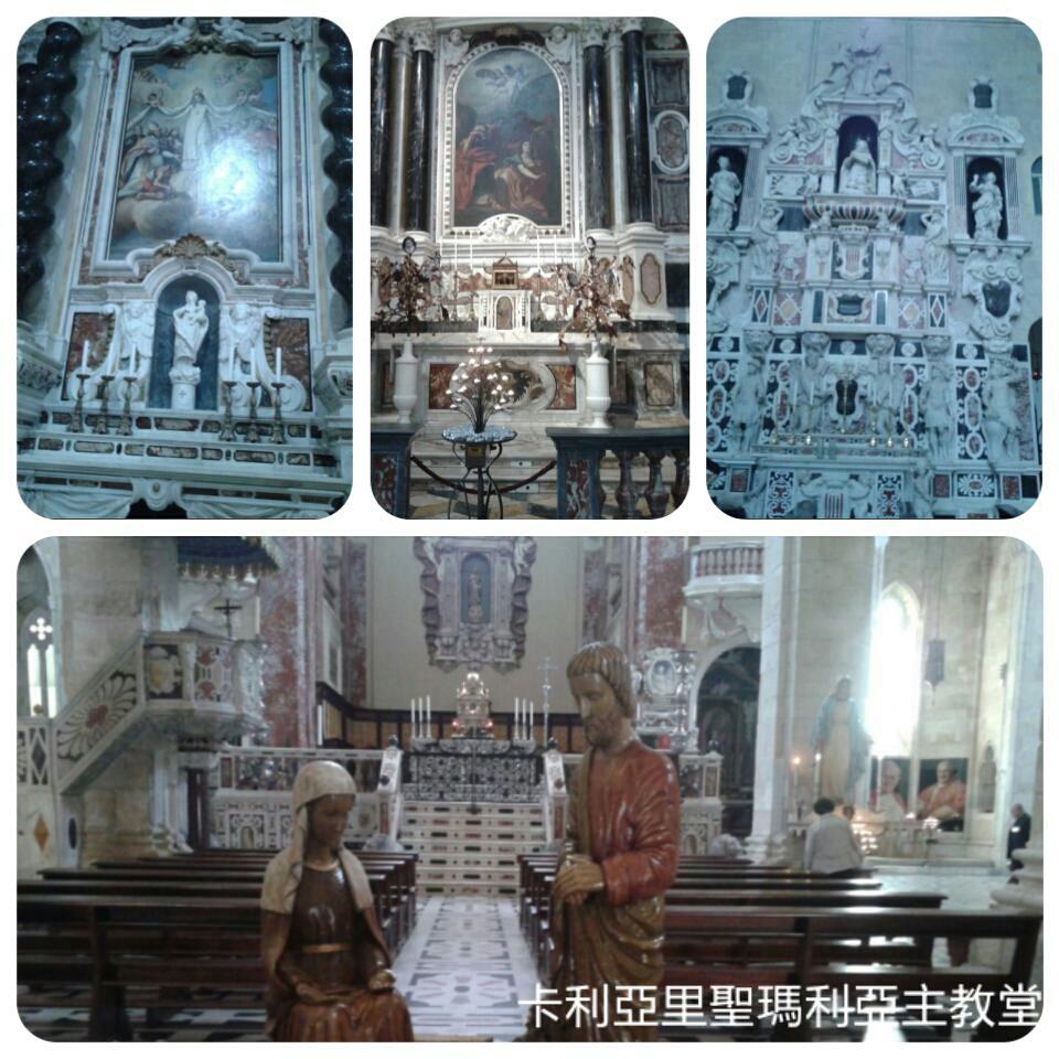 141129卡利亞里主教堂內部