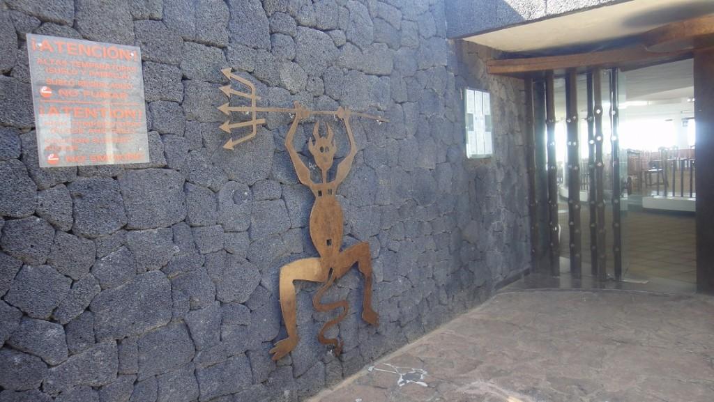 魔鬼餐廳是在旅客休息區的一個景觀餐廳