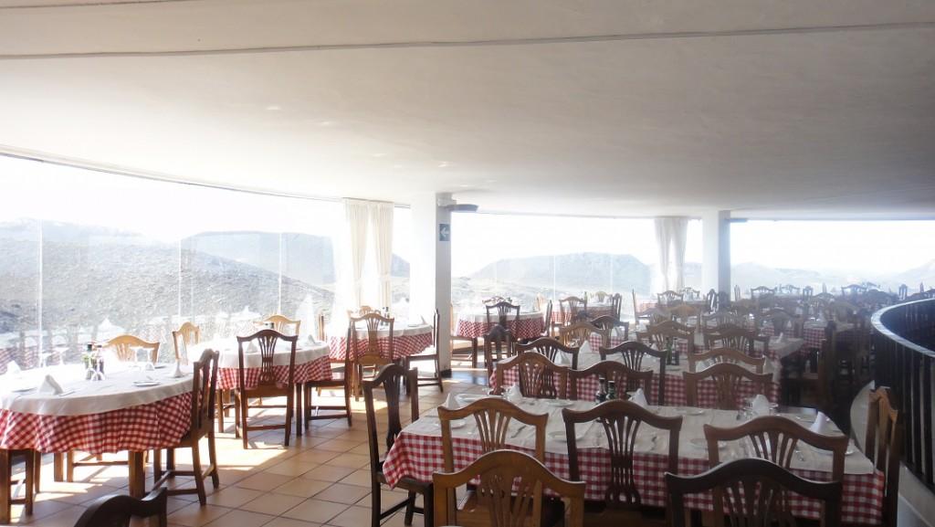 餐廳內部有360度的景觀