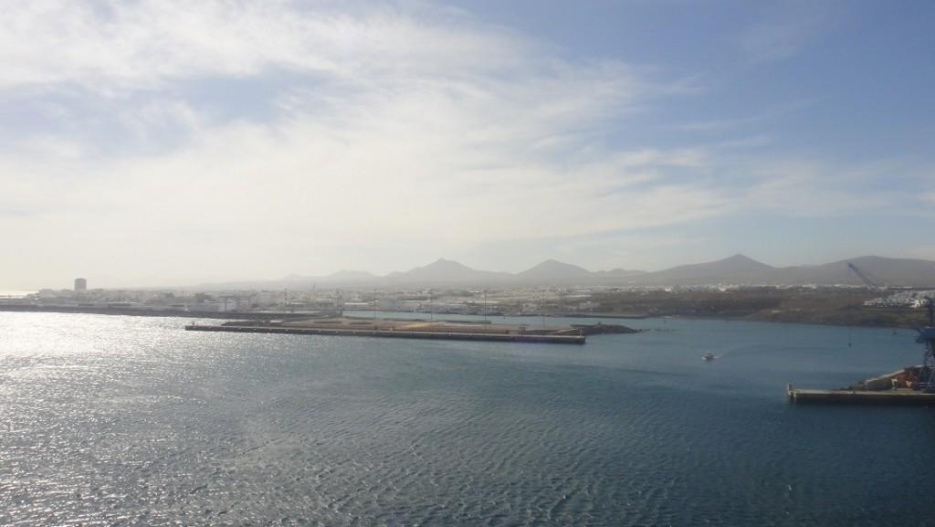 Lanzarote 港口 Arrecife
