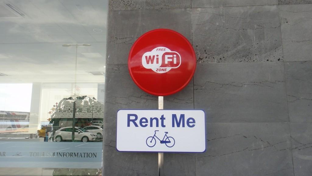 除了免費wifi、超友善工作人員、租汽車,還有腳踏車也可以租借 ^^