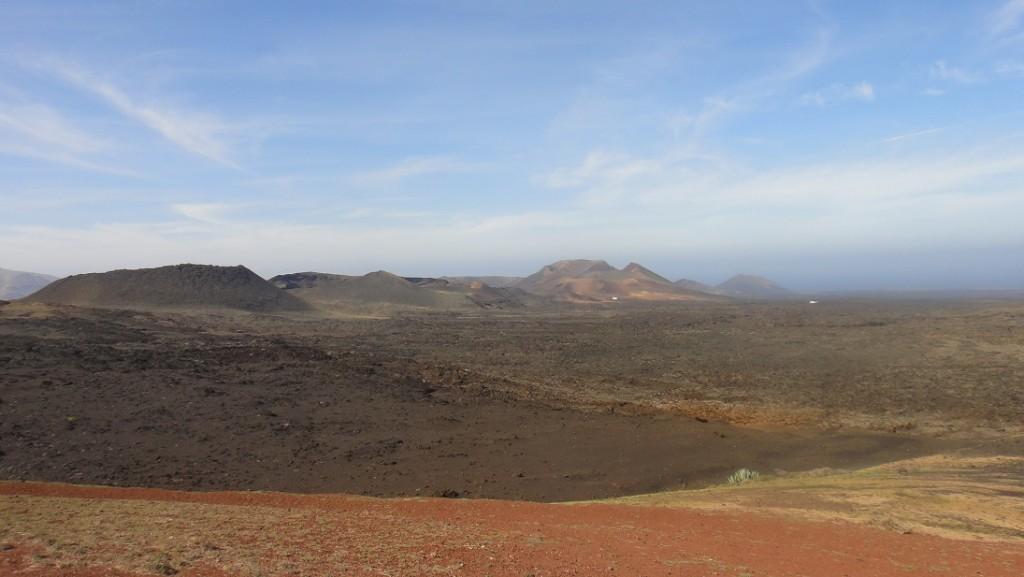 Timanfaya 國家公園裡的活火山群