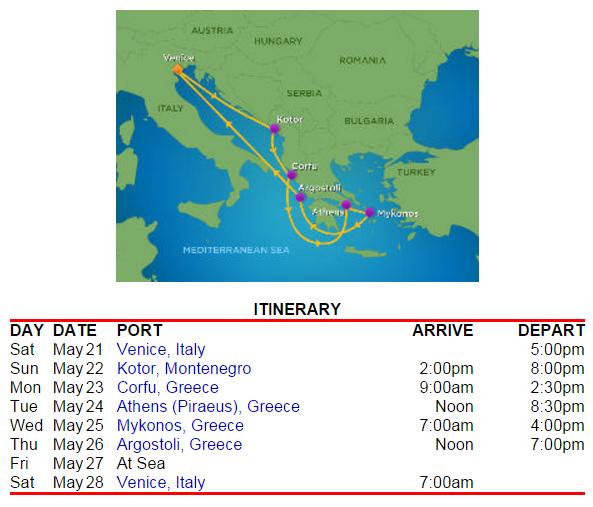 簡單的希臘小島路線