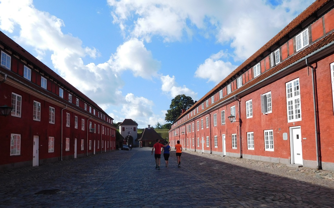 參觀參觀 Kastellet 裡的建築