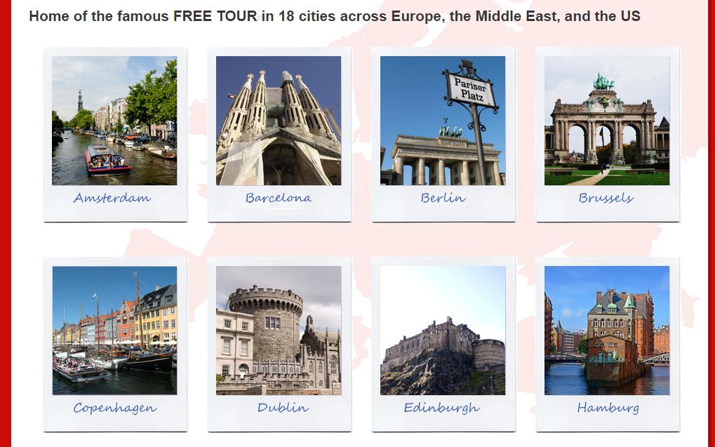 評價不錯的歐洲城市免費導覽資源